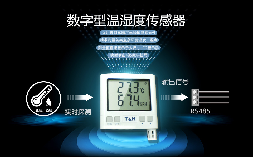 数字型温湿度传感器功能