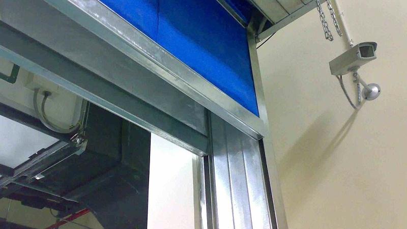 机房防火卷帘门系统